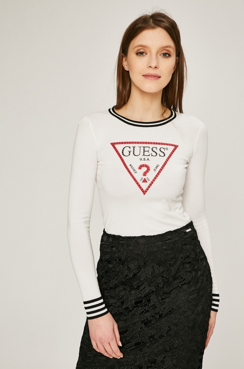 Guess Jeans Guess Jeans - Pulóver Ester - Styledit.hu a14f911cd6