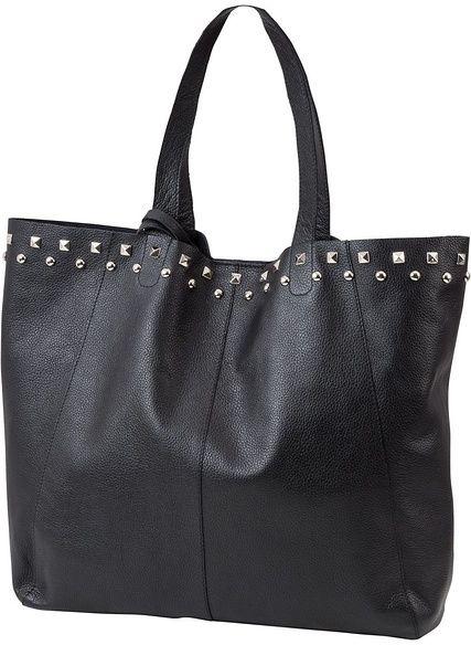 a6018d866a2a bpc bonprix collection Bőr táska szegecsekkel bonprix - Styledit.hu