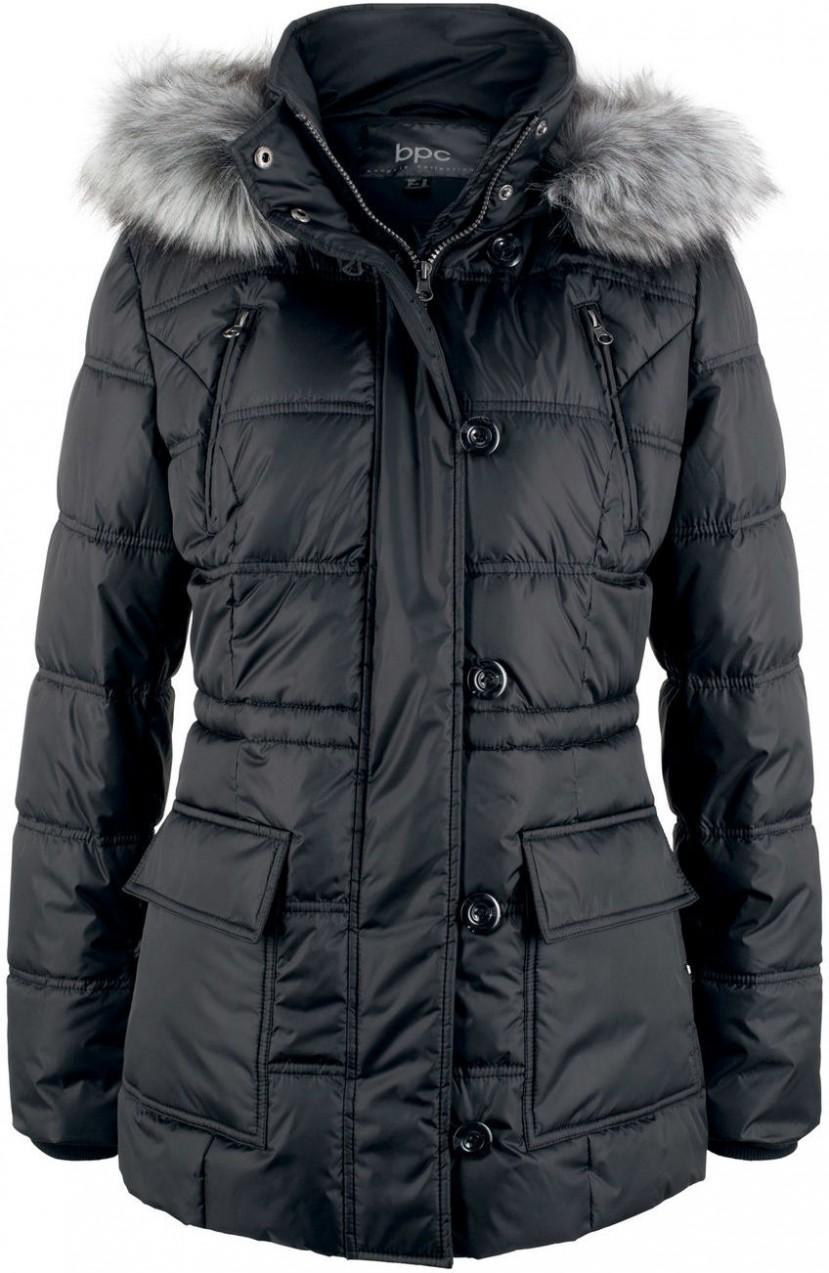 bpc bonprix collection Steppelt kabát kapucnival bonprix - Styledit.hu 0755c63081