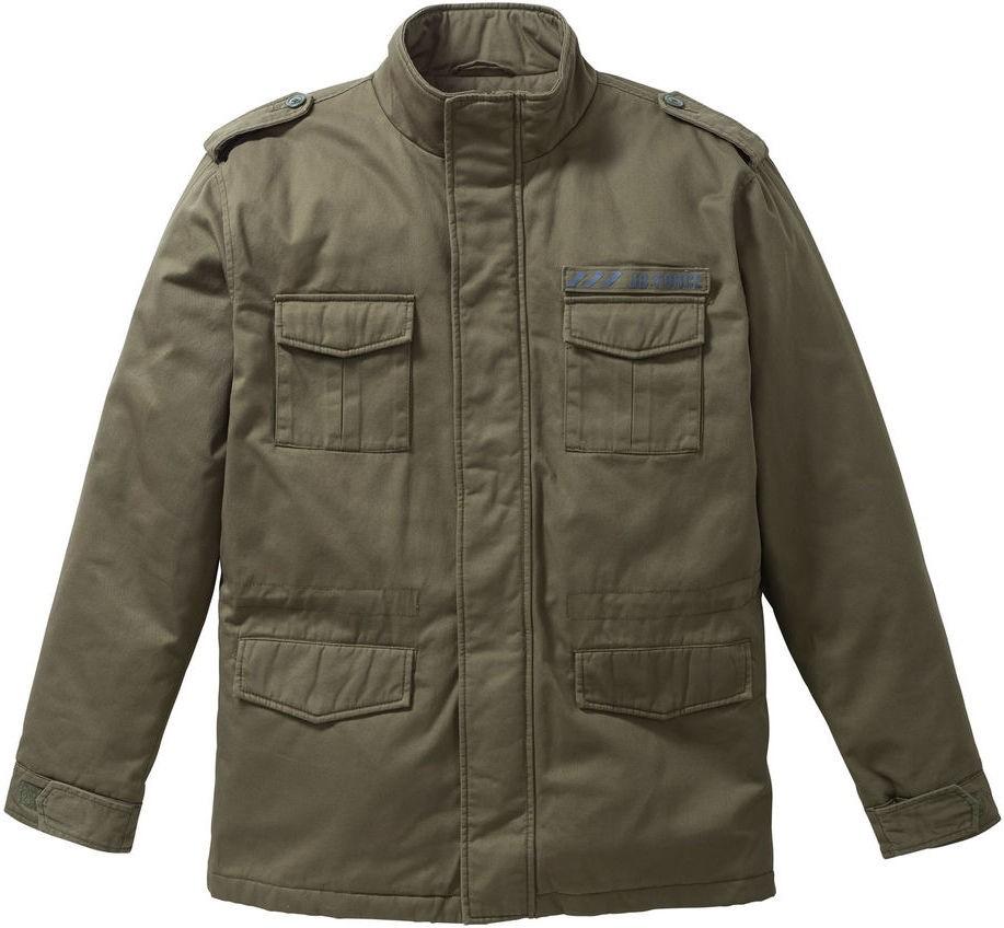John Baner JEANSWEAR Kabát mintával a hátoldalán Regular Fit bonprix ... b3c2a43849