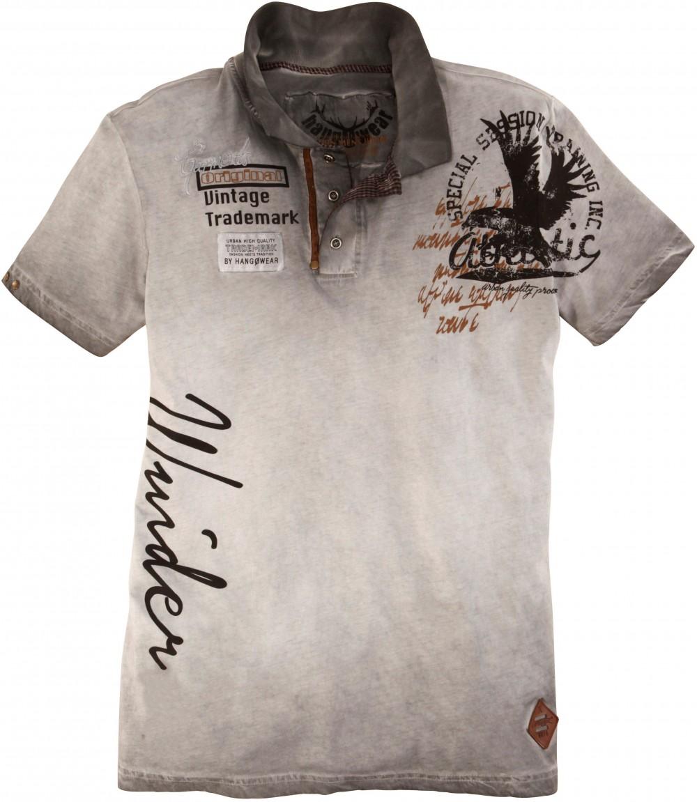 Népviseleti férfi póló nyomott mintás d186442f02