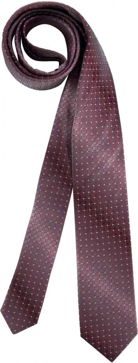 227b2c4004 Class International elegáns selyem nyakkendő csillogó hatással Class  International szürke-piros-mintás
