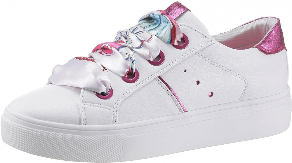 688ef871c301 Arizona Arizona platform sneaker cipő Arizona fehér-pink - EURO ...