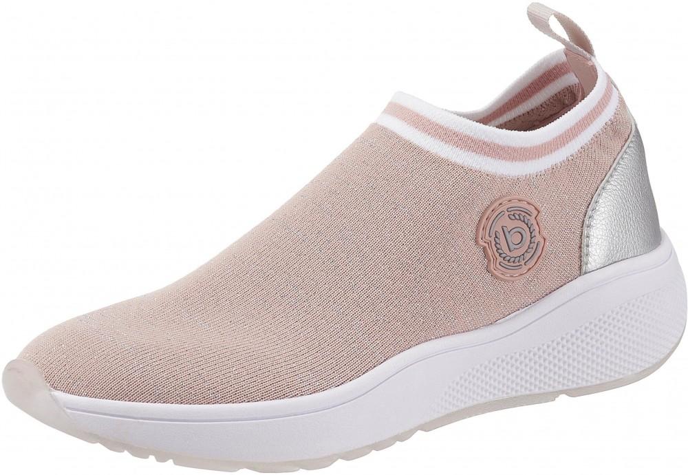 Bugatti platform sneaker cipő Bugatti rózsaszín-ezüstszínű - EURO-méretek  36. További Slip On 842d042f5c