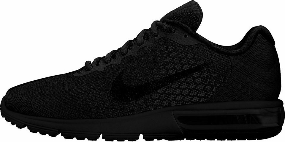 8897071f97cf Nike Nike futócipő »Air Max Sequent 2« Nike fekete-fekete - EURO ...