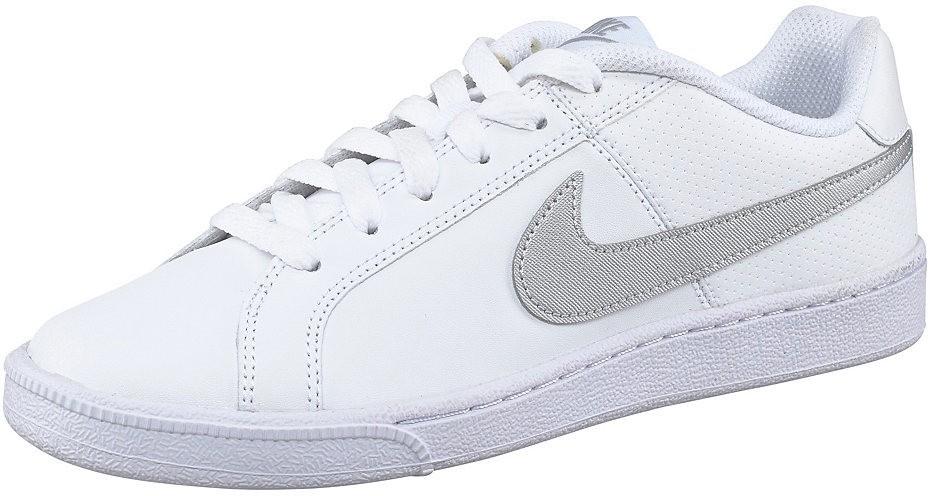 Nike Court Royale Wmns szabadidőcipő Nike Sportswear fehér ezüstszínű -  normál méretek 37 e01829ad02