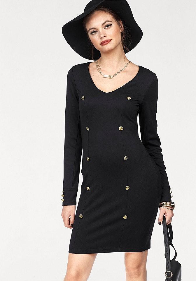 f6585b5d10 Melrose Melrose dzsörzé ruha Melrose fekete - normál méret 38 ...