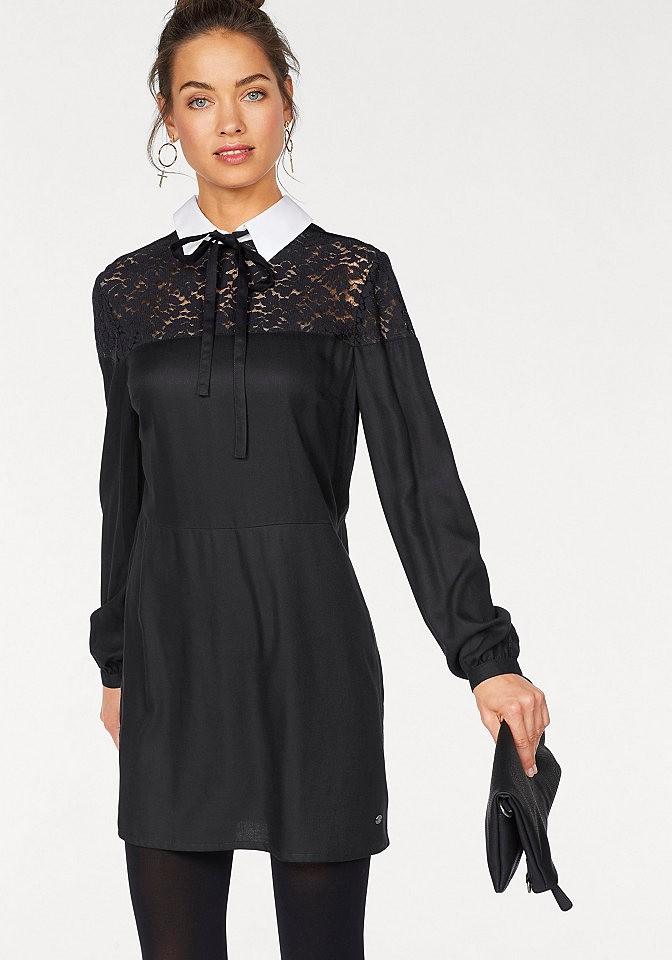 AJC AJC felül csipkés ruha AJC fekete-fehér - normál méret 36 ... 0be72c80dd