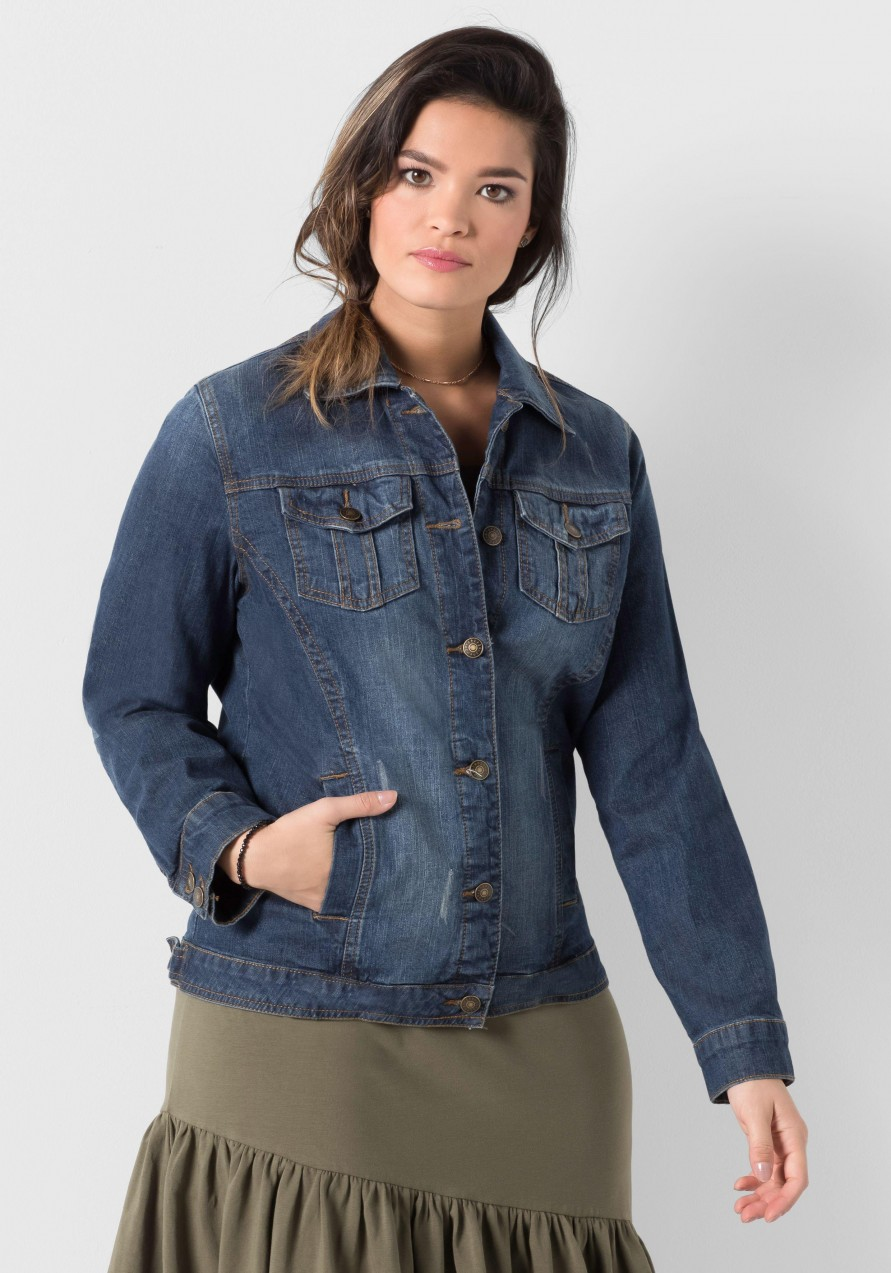 c872307dc0 sheego Denim sheego Denim farmerdzseki sheego Denim fekete - normál ...