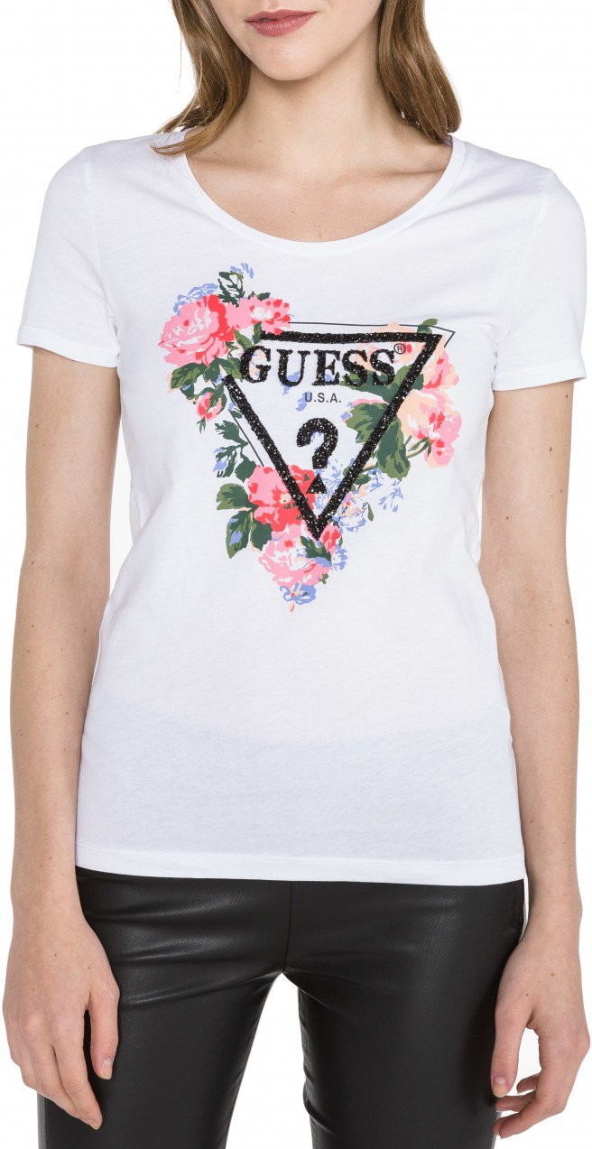 8df6f6b0eb Guess Roses Póló Guess - Styledit.hu