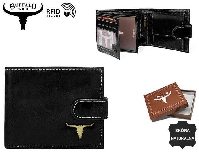 Bőr pénztárca fém logóval - Styledit.hu 774420bb22