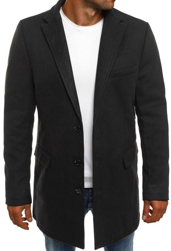 J.Boyz Fekete férfi szövet kabát J.BOYZ 1047 - Styledit.hu a7a4c6e477
