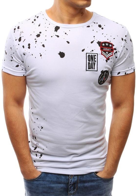 b42dba79ff Dstreet Fehér póló hímzett címkékkel - Styledit.hu