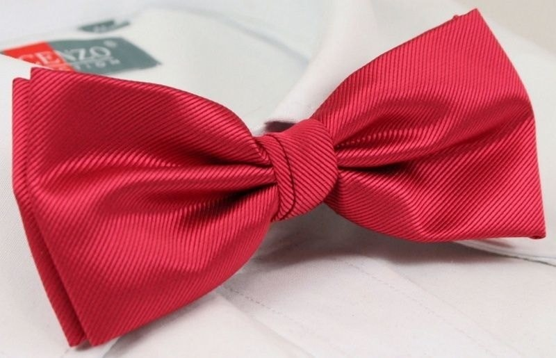 3d21c2ebd0 Piros struktúr mintás csokornyakkendő - Styledit.hu