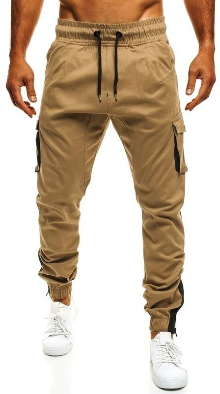 32cfa94b5d Karamell színű szabadidő nadrág ATHLETIC 705 - Styledit.hu