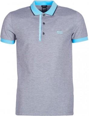 4d68d3dc64 Férfi galléros pólók Termékek megjelenítése Kék férfi galléros pólók  Termékek megjelenítése Boss Athleisure ...