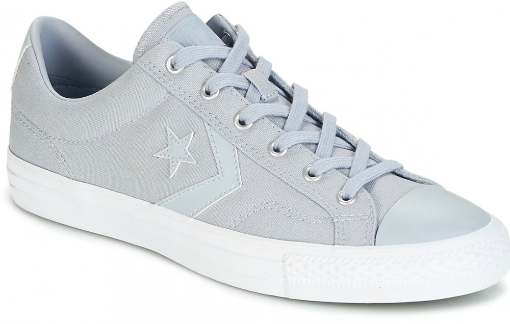 735ea0159690 Rövid szárú edzőcipők Converse STAR PLAYER CANVAS WITH GUM OX WOLF  GREY/WOLF GREY/