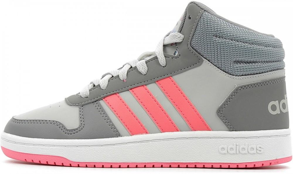 adidas Mid Adidas Kids hu 0 Hoops edzőcipők 2 Magas szárú Styledit tw6OXw