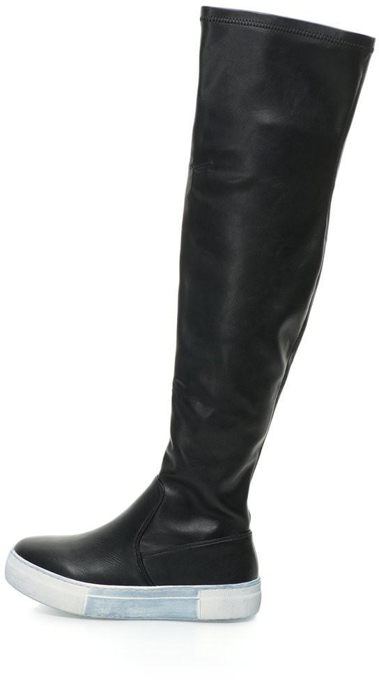 Oakoui Flatform Térdcsizma - Styledit.hu 625881dec4
