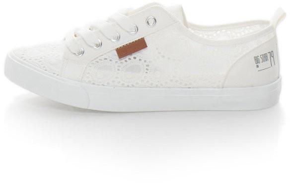 Fehér Sangallo Csipkés Cipő