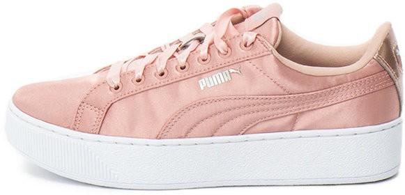 cf51e989cfcf Puma Vikky flatform sneakers cipő szatén hatással - Styledit.hu