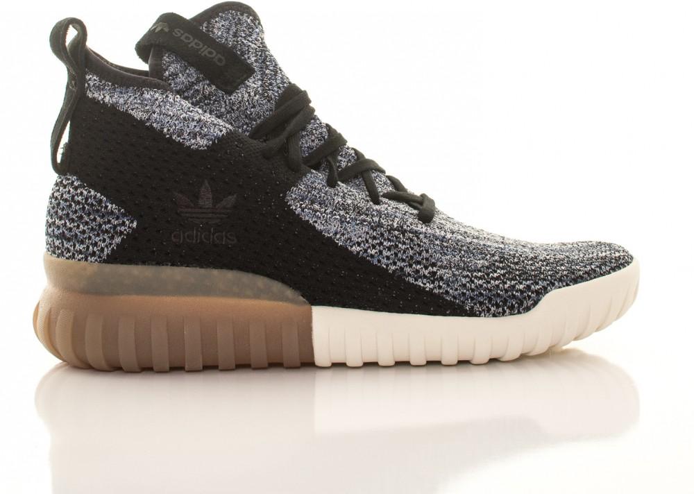 the latest 25c72 77bec Adidas Originals Tubular X Primeknit férfi textil tornacipő fekete