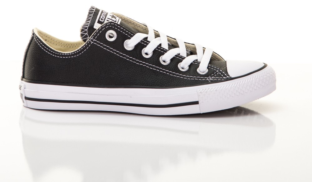Converse Converse Chuck Taylor All Star unisex bőr tornacipő fekete ... dfb8be67be
