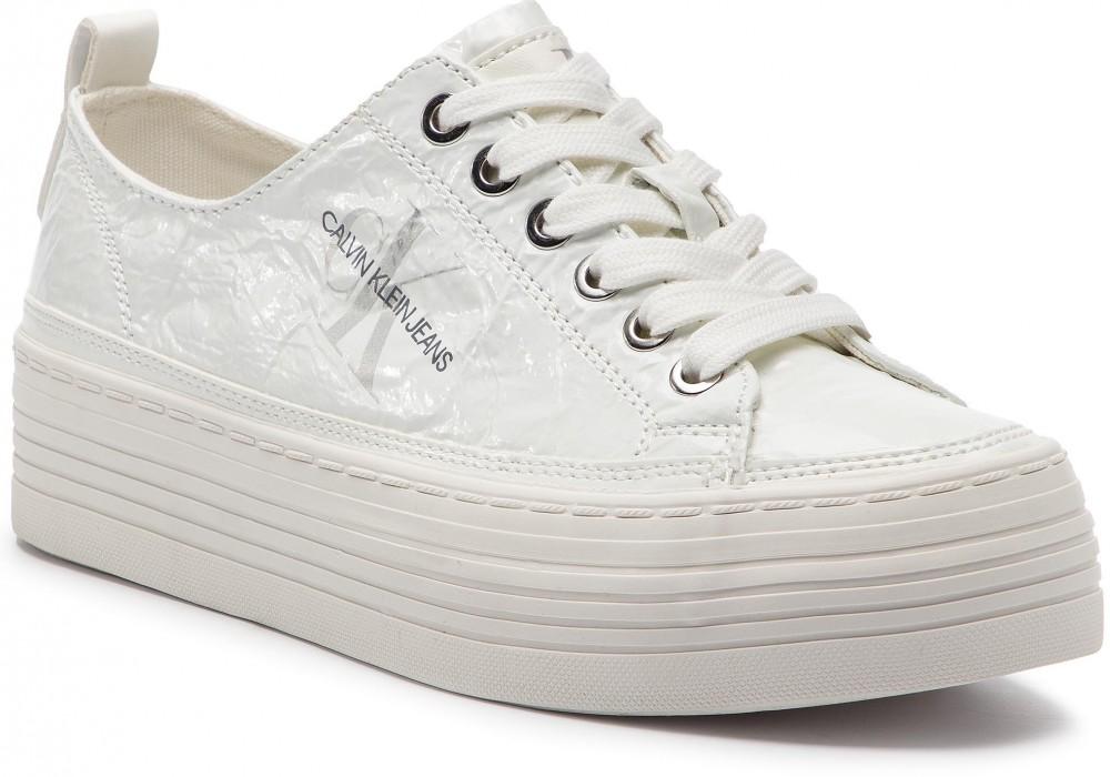 b1b6a57425 Calvin Klein Jeans Sportcipő CALVIN KLEIN JEANS - Zolah RE9848 White ...