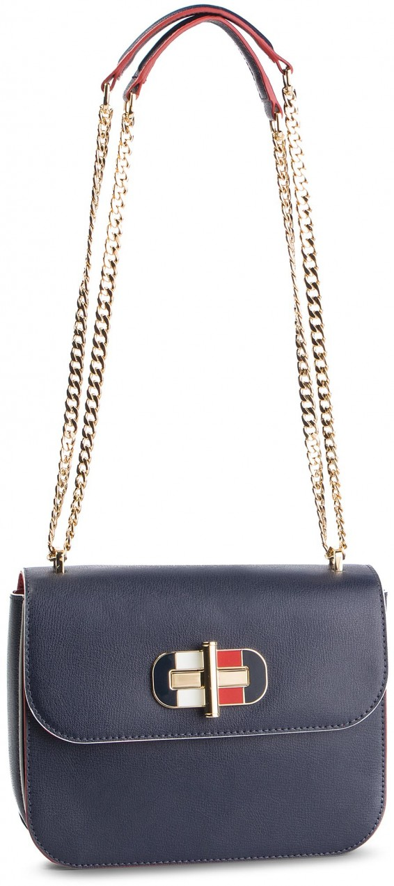 Táska TOMMY HILFIGER - Turnlock Crossover AW0AW06400 413