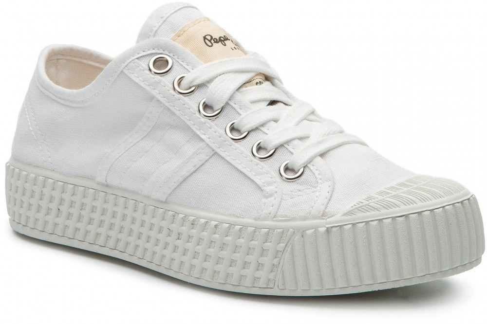 Tornacipő PEPE JEANS - In-G Low Girls PGS30405 White 800