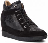 Heine telitalpú fűzős cipő heine feketeezüstszínű 36