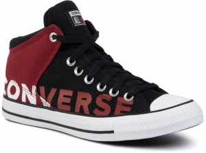 Converse Ctas High Street OX 160108C BlackBlackWhite