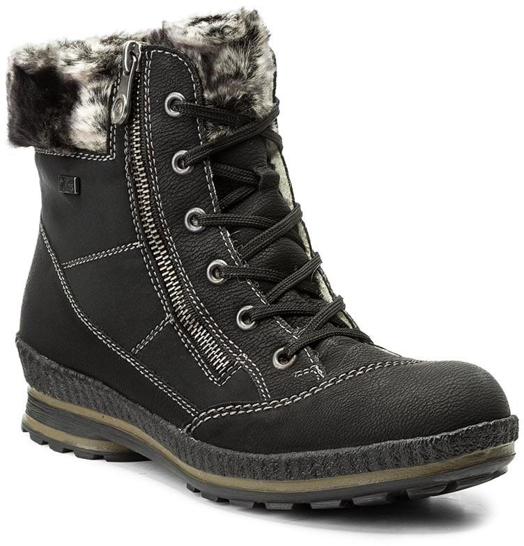 51e5605223 Rieker Magasított cipő RIEKER - Z2431-00 Schwarz - Styledit.hu