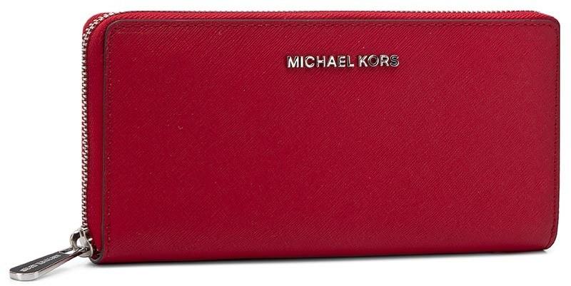 ceca4fab02 Nagy női pénztárca MICHAEL MICHAEL KORS - Jet Set Travel 32T3STVE3L Red