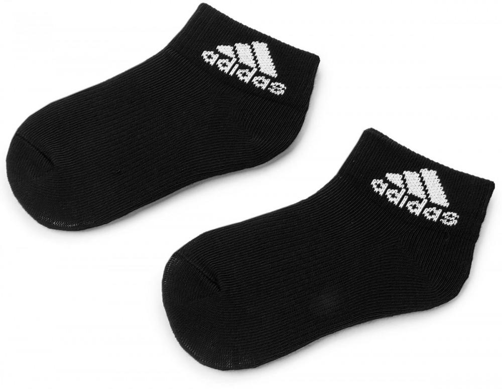 692fbbcebd Két pár hosszú szárú unisex zokni adidas - Per Ankle Black/Black/White