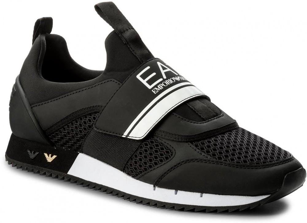 888d954288 Sportcipő EA7 EMPORIO ARMANI - Black & White U 248042 8P299 00020 Black