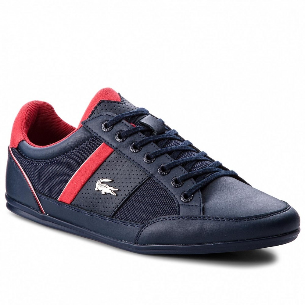Lacoste Sportcipő LACOSTE - Chaymon 218 1 Cam 7-35CAM0013144 Nvy Red ... bc730298b5