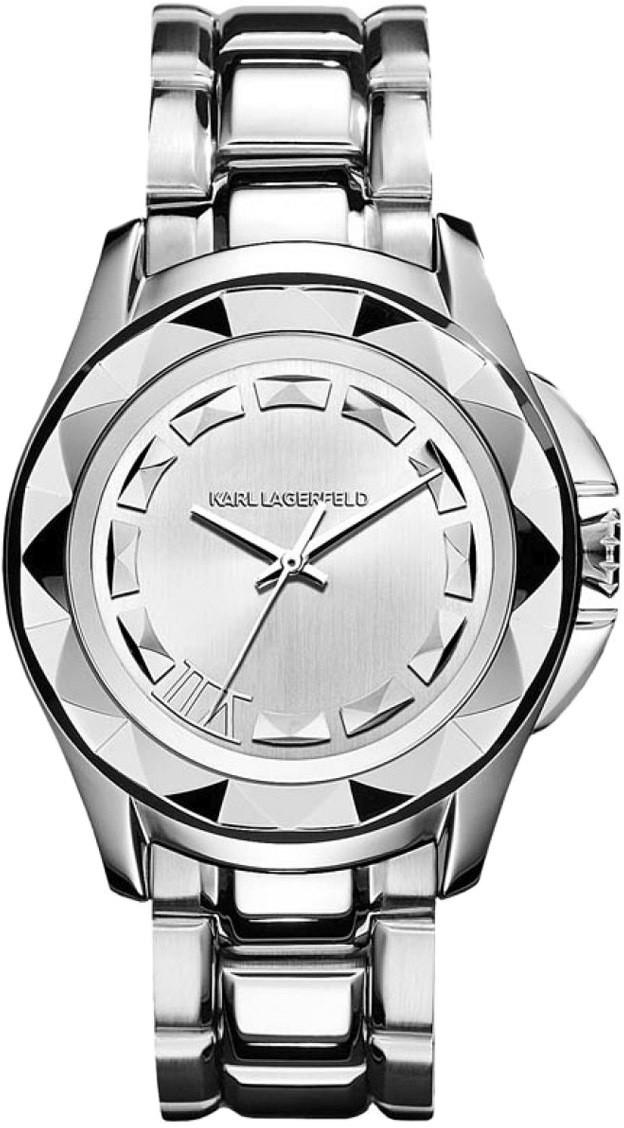 4e309a2cca Karl Lagerfeld Karóra KARL LAGERFELD - Karl 7 KL1005 Silver/Silver ...