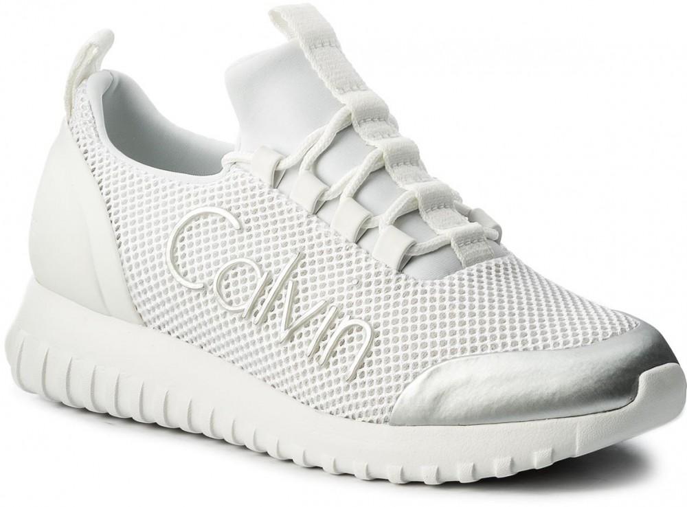 2c646be295 Calvin Klein Jeans Sportcipő CALVIN KLEIN JEANS - Reika R0666 White ...
