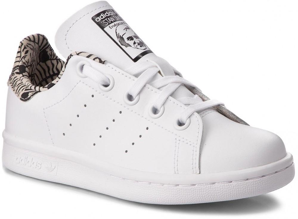 Cipő adidas Stan Smith C BC0277 FtwwhtFtwwhtCblack
