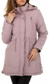 Rózsaszínű könnyű tavaszi parka kabát Styledit.hu
