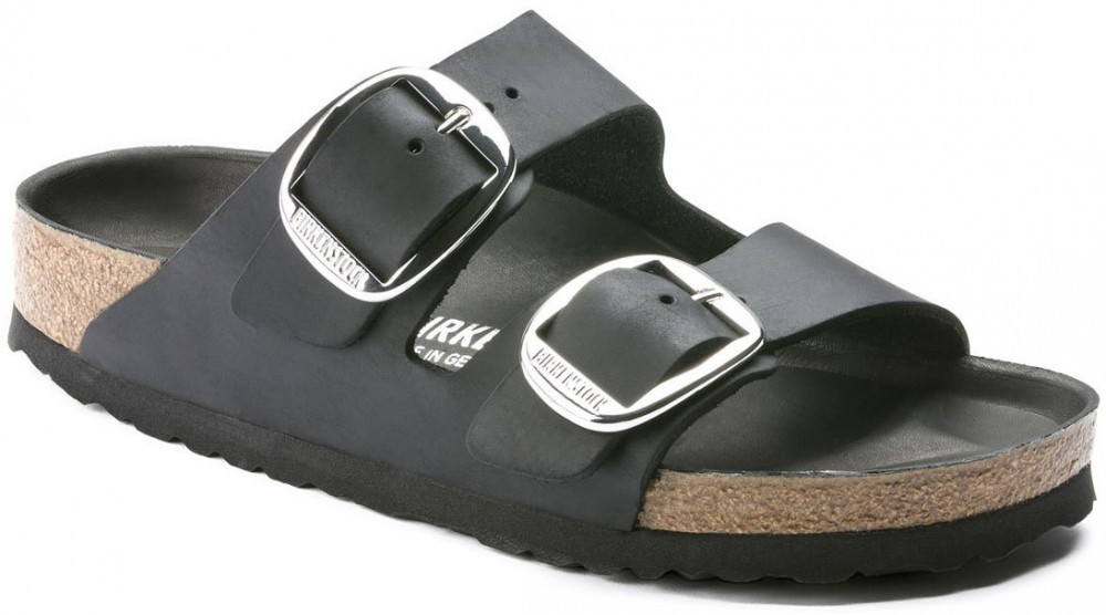 Birkenstock Arizona big Buckle Black