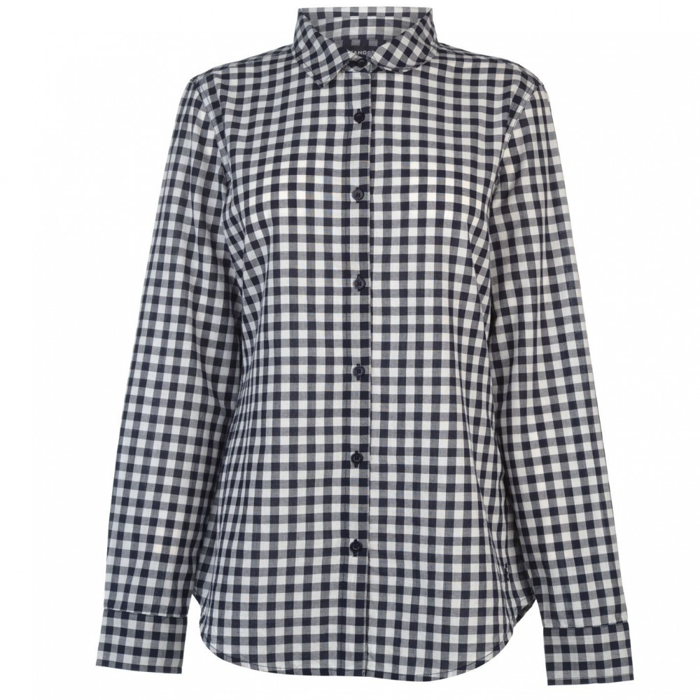 Kangol Long Sleeve Check Shirt Ladies