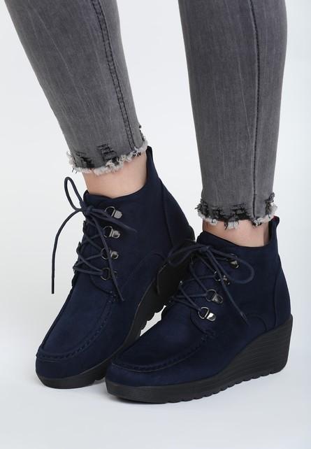 Tom Eva Alzira tengerészkék női platform cipő - Styledit.hu 2ec989f813