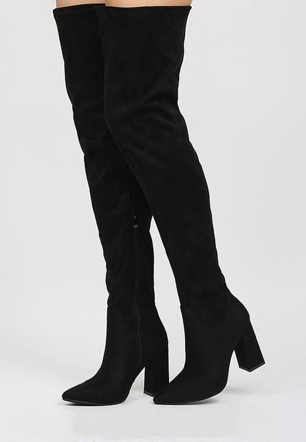 Maloja a fekete magassarkú csizma - Styledit.hu f83e57599b