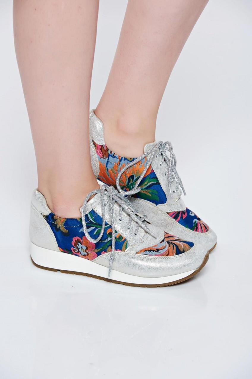 MissQ Ezüst MissQ casual sport cipő fűzővel köthető meg - Styledit.hu 63e8d0f20d