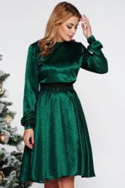 79e02792c0 StarShinerS Zöld StarShinerS elegáns harang ruha fátyol derékban ...