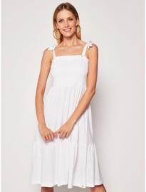 Boysen's Boysen's dzsörzé nyári ruha Boysen's fehér pink